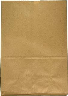 Duro Heavy Duty Kraft Brown Paper Barrel Sack Bag, 57 Lbs Basis Weight, 12 x 7 x 17, 25 Ct/Pack