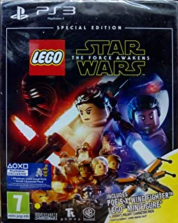 Lego Star Wars The Force Awakens Special Toy Edition Includes Lego X -Wing Mini Figure (Ps3)