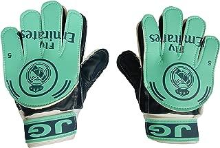 MarioSpots Soccer Goalkeeper Gloves for Kids Real Madrid