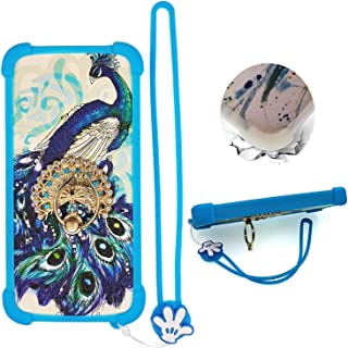 Case for Philips S616 Case Silicone border + PC hard backplane Stand Cover XKQ