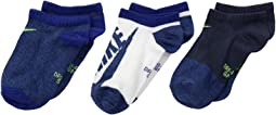 Performance Lightweight Dri-FIT™ No Show Training Socks 3-Pair Pack (Little Kid/Big Kid)