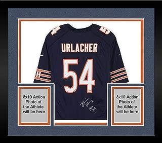 brian urlacher autographed jersey