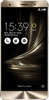 ASUS ZenFone 3 Deluxe 5.7-inch AMOLED FHD display, 6GB RAM 64GB storage Unlocked Dual SIM Cell Phone, US Warranty (ZS570KL-Glacier Silver)