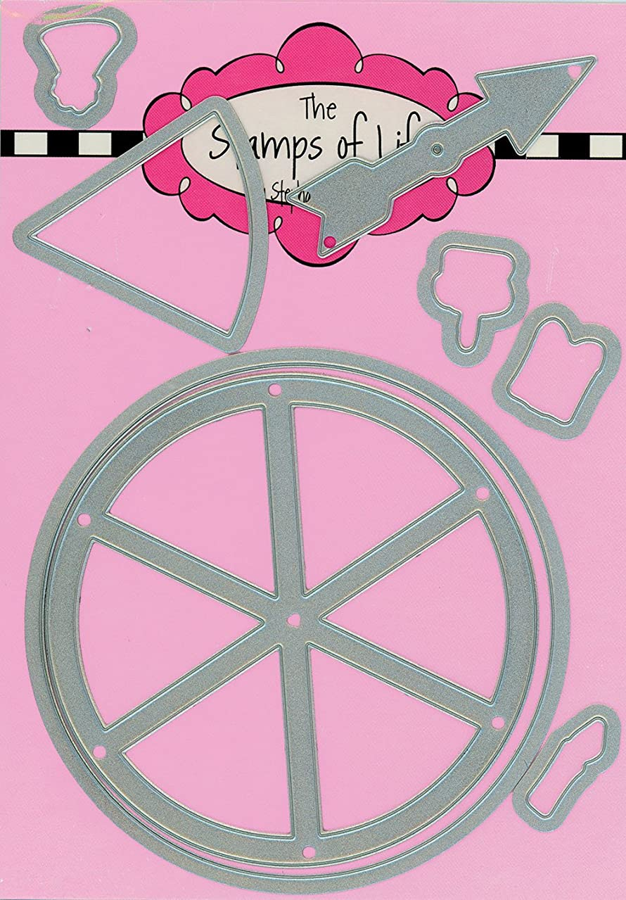 Spinners Metal Die Cuts for Scrapbooking and Card-Making by The Stamps of Life - Creative Designs