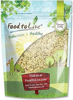 Hemp Seeds, 1 Pound - Raw Hearts, Hulled, Non-GMO, Kosher, Vegan, Bulk, Product of China