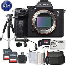 Sony Alpha a7 III Mirrorless Digital Camera Body w/Audio Technica Microphone & Tripod Deluxe Bundle
