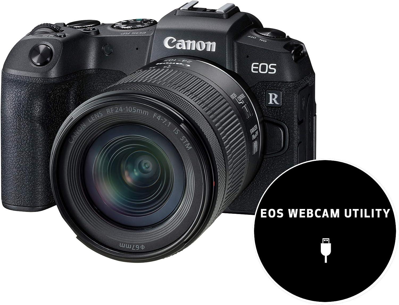 Canon EOS RP Systemkamera   mit Objektiv RF 200 200mm F200 200.200 IS STM  spiegellos, 200,20 Megapixel, 200,20 cm Clear View LCD II, 200K, DIGIC 20  Bildprozessor, ...