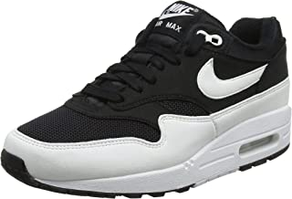 Nike Women's WMNS Air Max 1 Low-Top Sneakers (Black/White 001), 6 UK 6 UK
