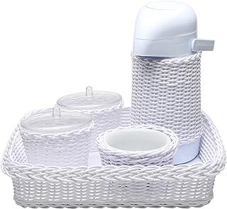 Kit Higiene Vime, Potinho de Mel, Branco
