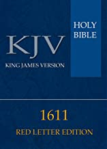 HOLY BIBLE 1611 (Pure Cambridge Edition): RED LETTER