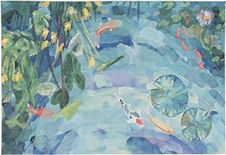 "Liora Manne ILU23331216 Illusions Peaceful Pond Indoor Outdoor Washable Area Rug, 1'11"" x 2'11"""