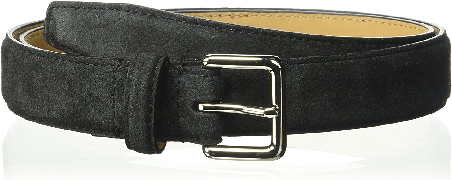 Cole Haan womens 1  Suede Belt With Stitched Edge