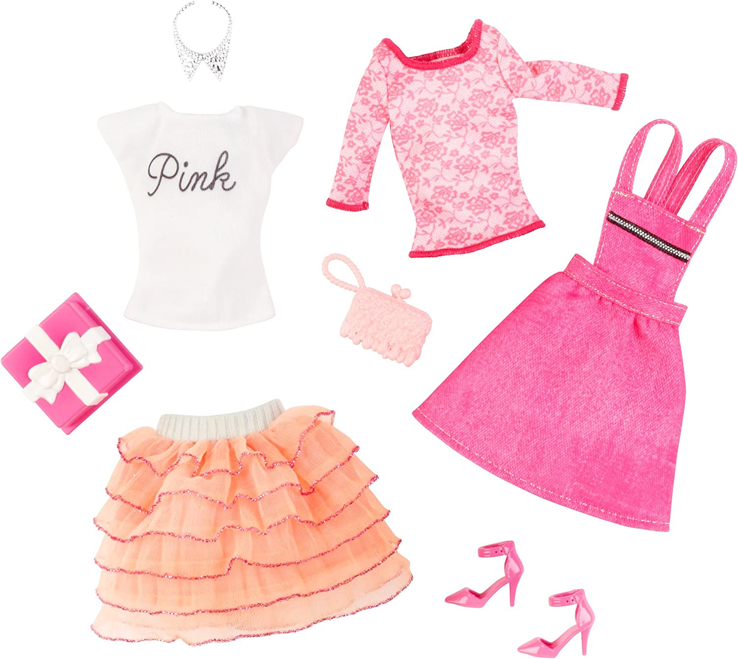 Barbie Fashion komplett Look 2er Pack, Geburtstag Set