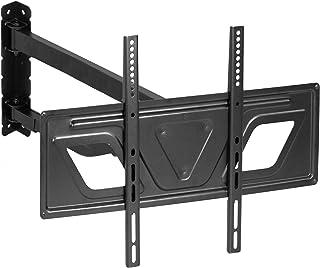 """VIVO Full Motion Articulating Corner Wall TV Mount Bracket for LCD OLED Plasma Flat Screen 37"""" to 60"""" TVs Black MOUNT-CR02V"""