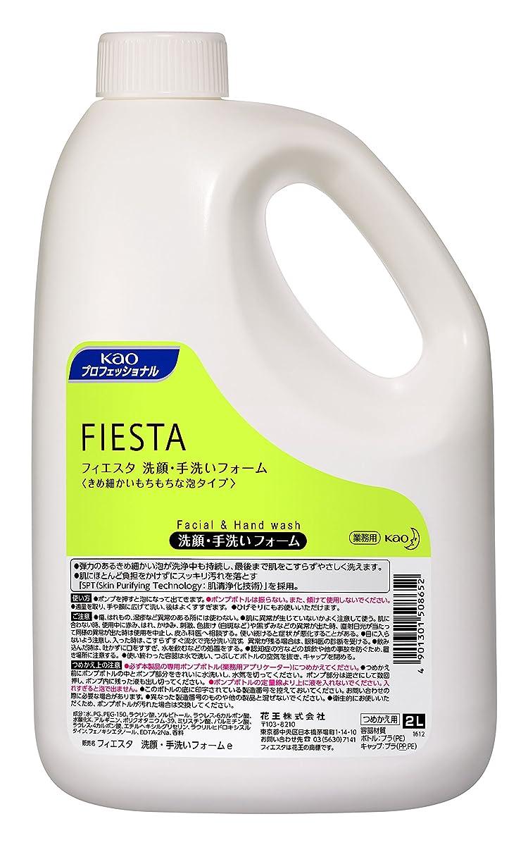 終了しました推進力消毒剤【業務用】フィエスタ 洗顔?手洗いフォーム 2L×3本