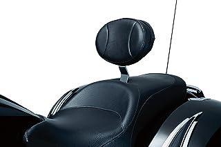 Kuryakyn 1656 Acessório de motocicleta: Plug-N-Go Almofada de encosto de assento para motocicletas vitorianas 2010-17, preta