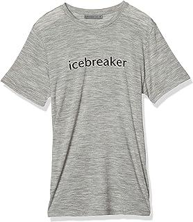 [アイスブレーカー] Tシャツ テックライト ショートスリーブ クルー アイスブレーカーロゴ メンズ
