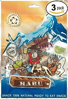 CANTINA STAR | Fish Jerky (Dried Fish) | Mabu | 2.8 oz - All Natural & Wild Caught - Pack of 3