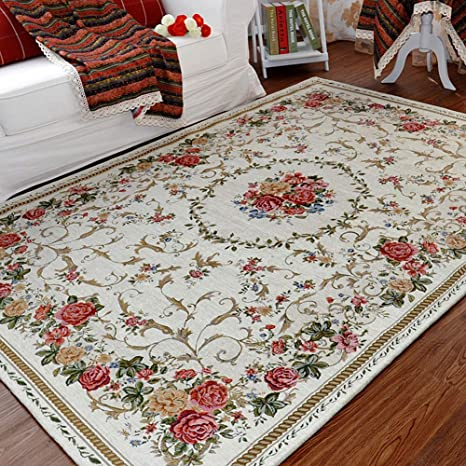 Amazon Com Ukeler Vintage Rustic Shabby Rose Rugs Luxury Soft Elegant Traditional Rugs Accent Floral Floor Rugs Carpet For Home Living Room Bedroom 55 X78 7 Country Rose Kitchen Dining