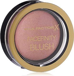 Max Factor Compact Blush Lovely Pink 5 – Marmorerat Rouge för perfekt glöd – flertonat puder rouge – färg rödrosa – 1 x 2 g