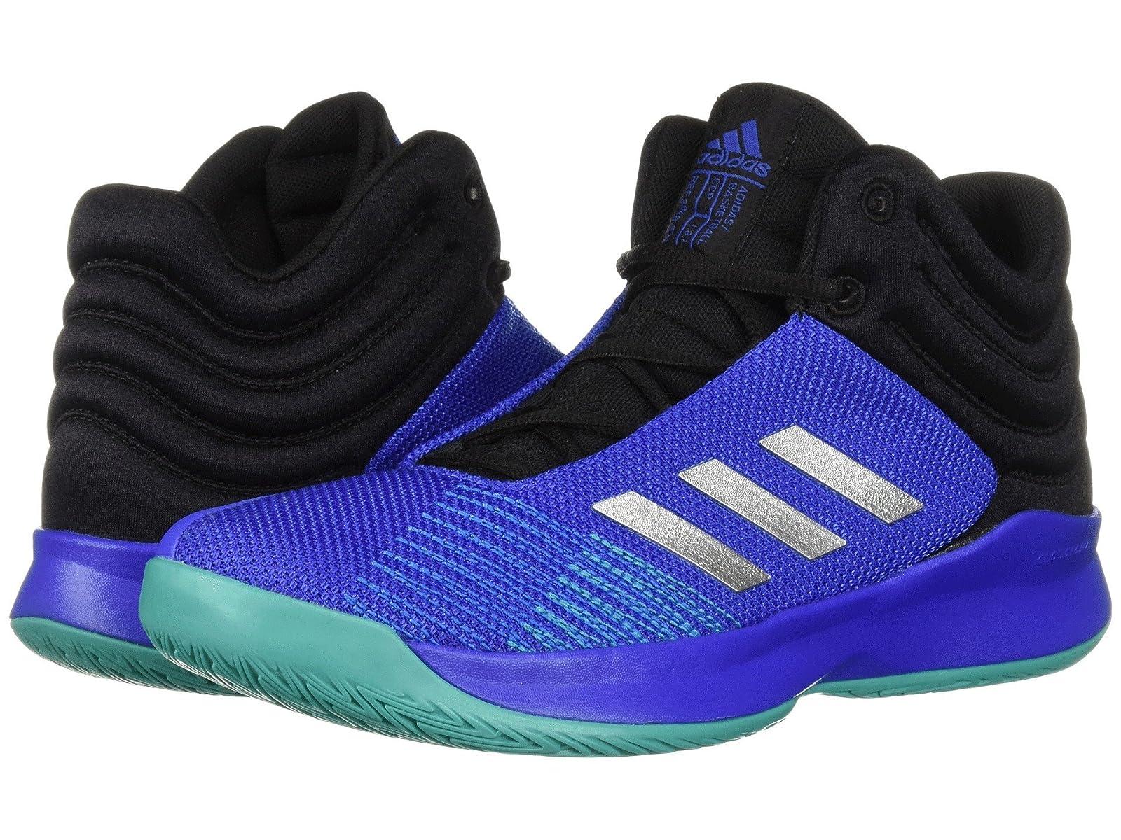 adidas Kids Pro Spark Basketball Wide (Little Kid/Big Kid)Atmospheric grades have affordable shoes