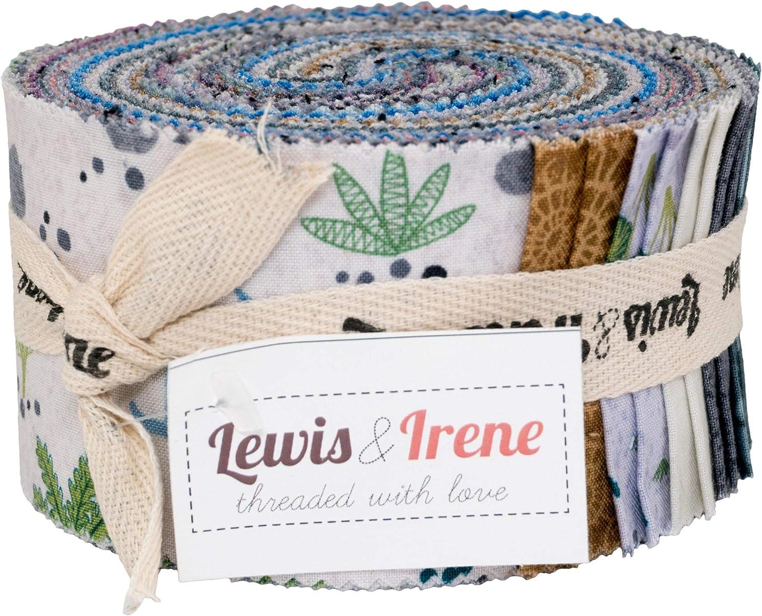 Kimmeridge Bay Strips 40 2.5-inch Strips Jelly Roll Lewis & Irene