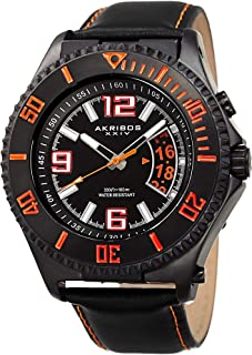 Akribos XXIV Men's AKR460OR Ultimate Collection Swiss Quartz 'Explorer' Watch