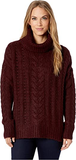 7c8896339cd0 Smartwool womens willow lake button mock neck sweater