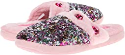 Sequin & Rhinestone Slide Slippers