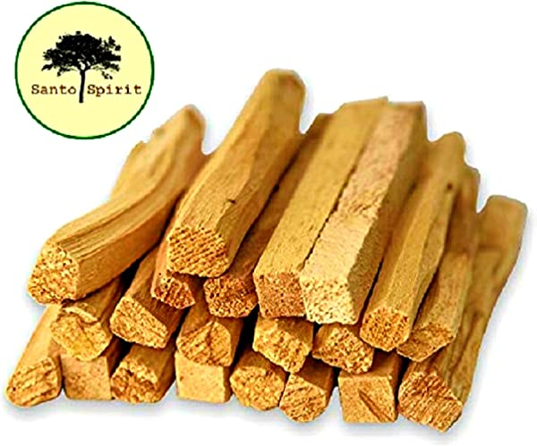 Santo Spirit Palo Santo Holy Wood Incense Smudge Sticks 20 Pack Free Bonus 3 Palo Santo Incense Cones 100 Natural High Resin Sustainably Sourced Clears Purifies Negative Energy