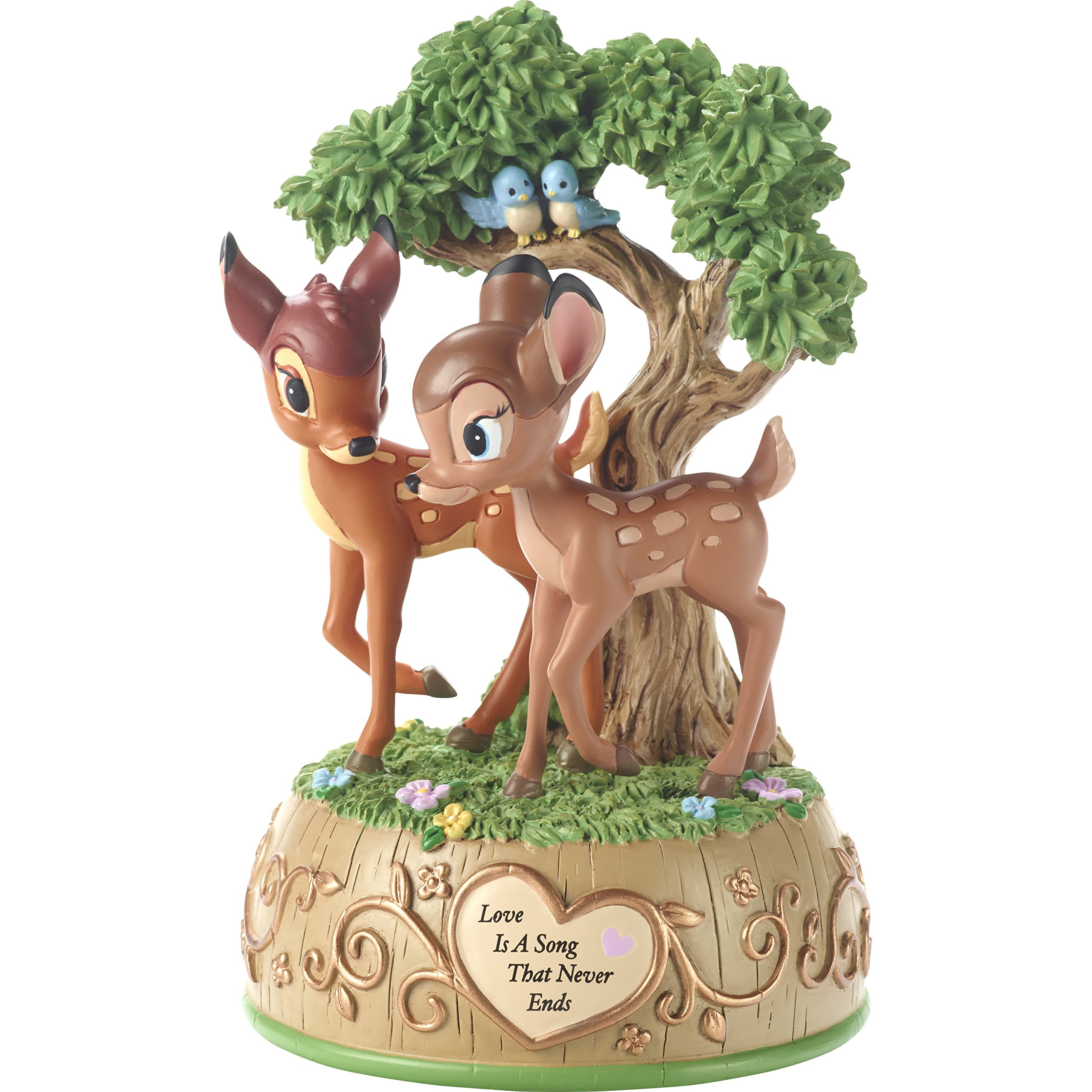 Image of Heartwarming Disney Bambi Musical Figurine