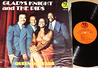 Queen Of Tears by GLADYS KNIGHT And The PIPS 1974 Vinyl Record LP