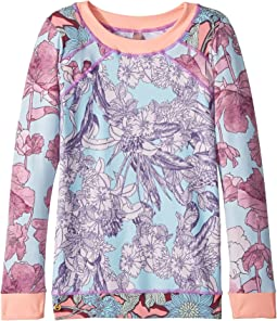 Maaji Kids Marshmallow Mount Rashguard (Toddler/Little Kids/Big Kids)