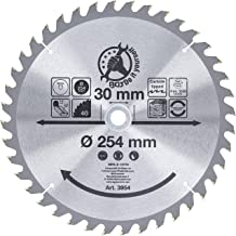 BGS Diy 3954   hardmetalen cirkelzaagblad   Ø 254 x 30 x 3,2 mm   40 tanden