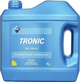 ARAL 10644 Tronic 15W 40 Motorenöl , 4 Liter