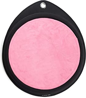 Sleepypod Crater Dot Contoured Pet Bed Lounge Blossom Pink