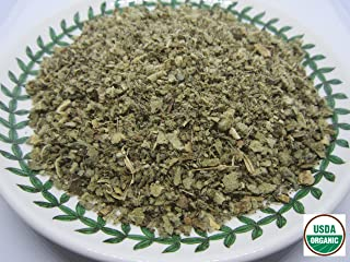 Organic Mullein Leaf - Dried Verbascum thapsus Loose Tea from 100% Nature (4 oz)