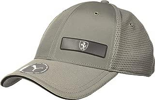 Unisex-Adult's Standard Scuderia Ferrari Baseball Cap, Charcoal, One Size