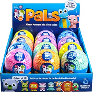 Educational Insights Playfoam Pals Wild Friends 12-Pack: Hidden Pal and Playfoam - Perfect for Party Favors and Goody Bags