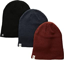 Burton DND Beanie 3-Pack (Little Kids/Big Kids)