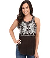 Scully - Honey Creek Electra Embroidered Tank Top