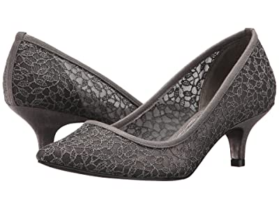 Adrianna Papell Lois Lace (Gunmetal Valencia Lace) Women