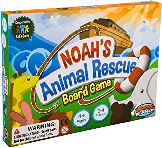 Jumping High Five Noah's Animal Rescue! Kids #1 Cooperative Matching Game for Kids Ages 4 and Up - Teach Children New Skil...