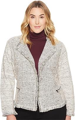 NIC+ZOE - Plus Size Chilled Blazer Jacket