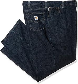 Carhartt Men's Big & Tall Flame Resistant Rugged Flex Jean Traditional Fit