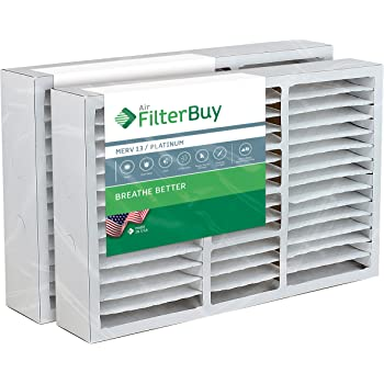2 Pack 15.88x24.88x4.38 16x25x5 MERV 11 Aftermarket Lennox Replacement Filter