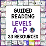 Reading Resources for Kindergarten through Third Grade featuring Leveled Reading Comprehension Passages