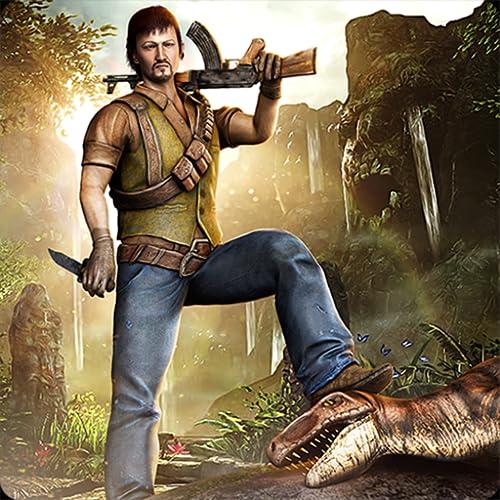 Hero Jungle Shooting Hunter Animal Survivor Shooter Evolution Simulator Mission 3D: Dinosaur Adventure Survival Acción Juegos emocionantes Gratis para niños 2019