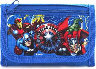 Marvel Avengers Blue Trifold Wallet - 1 WALLET