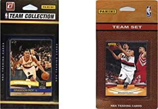 NBA Portland Trail Blazers 2 Different Licensed Trading Card Team Sets